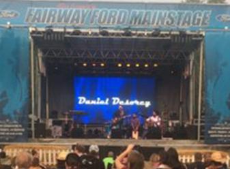 Ag fair stage