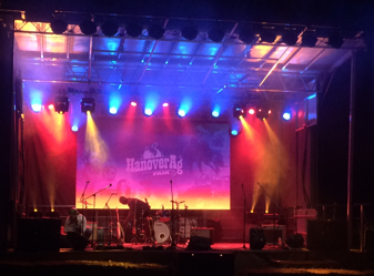 Ag fair led light wall and stage