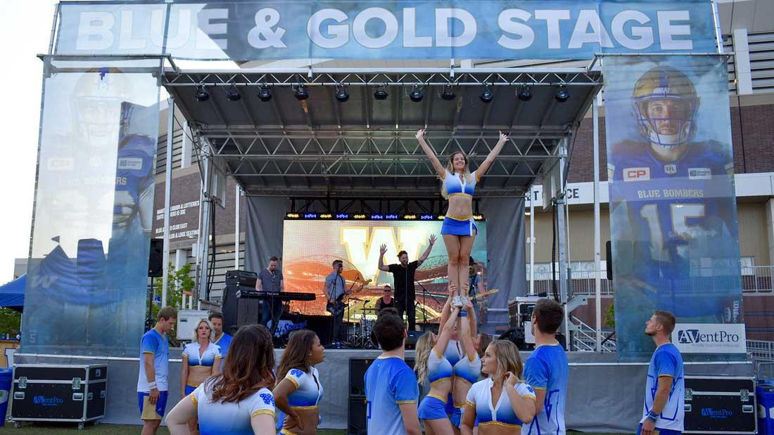 blue gold cheer
