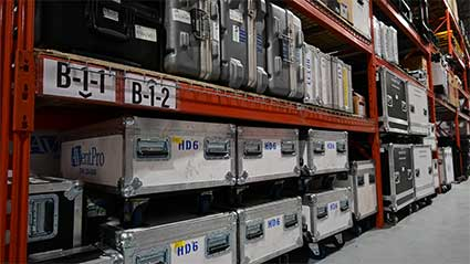 audio visual warehouse
